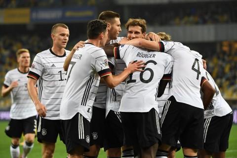 Ukraina vs Jerman: Tim Panser Raih Kemenangan Perdana
