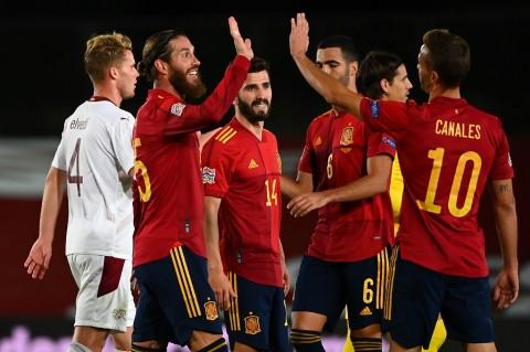 Spanyol vs Swiss: La Furia Roja Menang Berkat Gol Oyarzabal