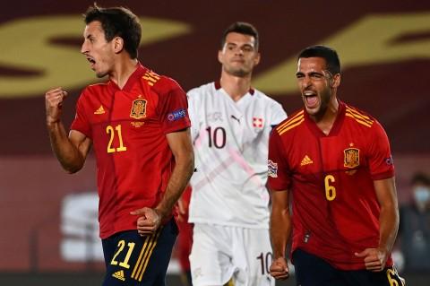 Spanyol Kalahkan Swiss 1-0