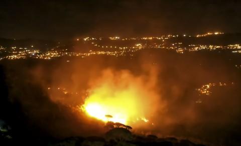 Kebakaran Hutan di Perbatasan Lebanon, 3 Tewas