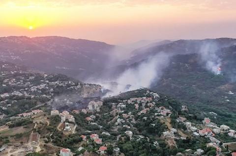 Tiga Orang Tewas dalam Kebakaran Hutan di Suriah dan Lebanon
