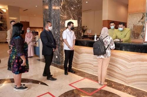 Sebanyak 4.233 kamar hotel didiapkan untuk isolasi pasien tanpa gejala, gejala ringan, dan tenaga kesehatan. (Foto: Dok. Kemenparekraf)