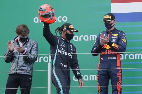 Tercepat di GP Eifel, Lewis Hamilton Samai Rekor Schumacher
