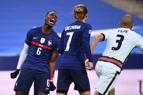 Prancis vs Portugal: Tuan Rumah Ditahan Imbang Tanpa Gol