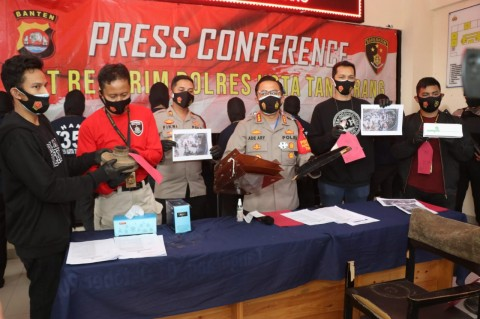 Polresta Tangerang Tetapkan Sembilan Tersangka Demo Rusuh
