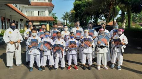 GOR Pajajaran Bogor Bawa Indonesia Bersinar di Kejuaraan Dunia Virtual Karate