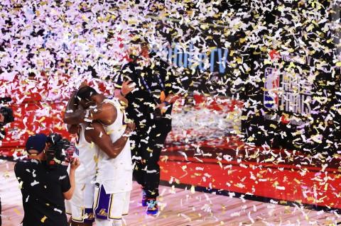 LA Lakers Juara NBA 2020
