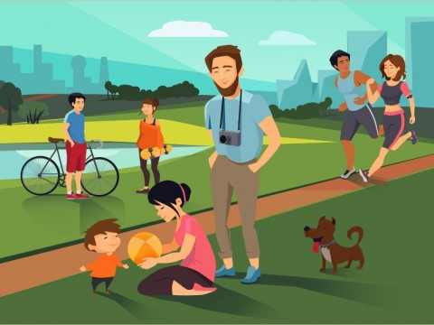 Kota Ramah Anak Bukan Sekadar Penyediaan Ruang Terbuka Hijau