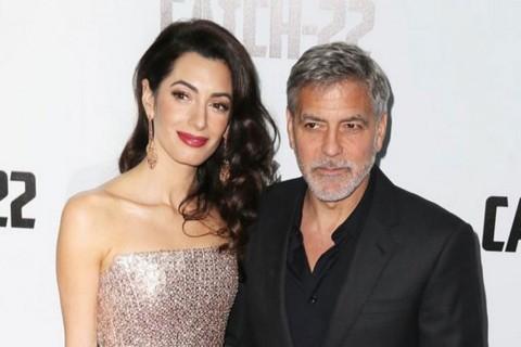 George Clooney dan Istri Bantu Teater Lokal Terdampak Pandemi Covid-19