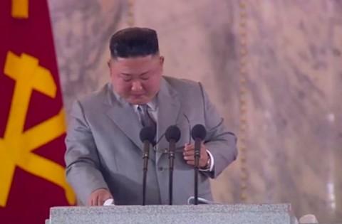 Tangis Kim Jong-un Akui Kegagalan di Hadapan Rakyat Korut