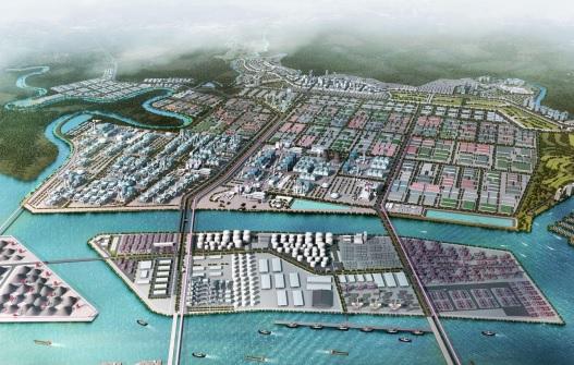 Ilustrasi kawasan industri. Foto: Medcom.id