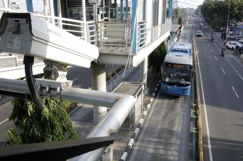 TransJakarta Tak Berhenti di Beberapa Halte Pusat Kota