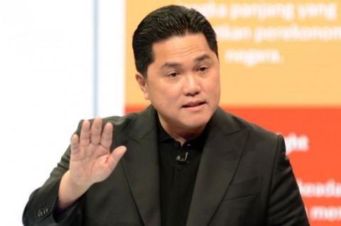Erick Thohir Resmi Merger Bank Syariah Nasional