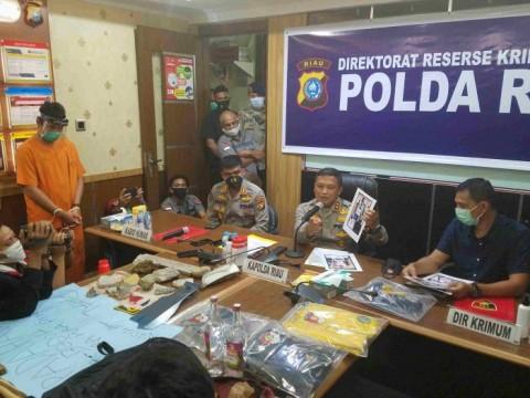 Bawa Batu dan Miras saat Demo, 21 Remaja di Riau Ditangkap