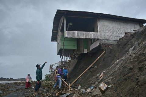 Kondisi Permukiman Warga Garut Pascaditerjang Banjir Bandang