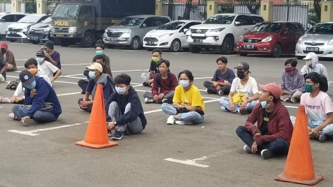 Pelajar di Tangerang Ditangkap Hendak Demo Bertambah Jadi 110