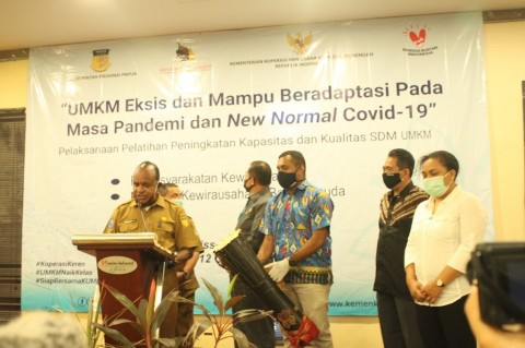 Dukung UMKM Milenial Papua Naik Kelas via Pelatihan Kewirausahaan