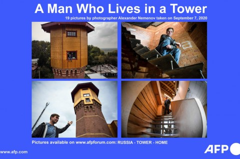 Pria Ini Ubah Bekas Menara Air Jadi Apartemen Modern