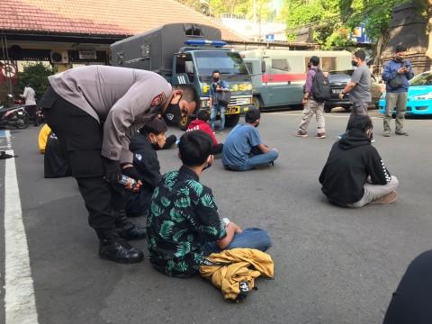 36 Anak di Malang Ditangkap karena Hendak Ikut Demo