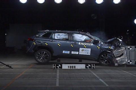 Melihat Kemampuan Toyota Corolla Cross Lewati Uji Tabrak