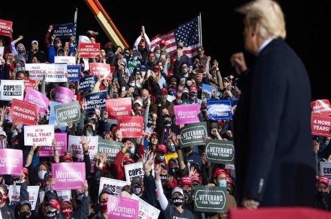 Trump Sebut AS akan Seperti Venezuela Jika Biden Menang