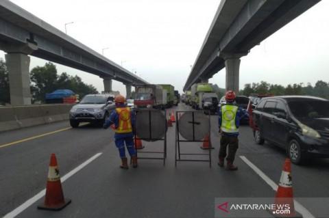 Tol Jakarta Cikampek Km 41 Diberlakukan Buka Tutup