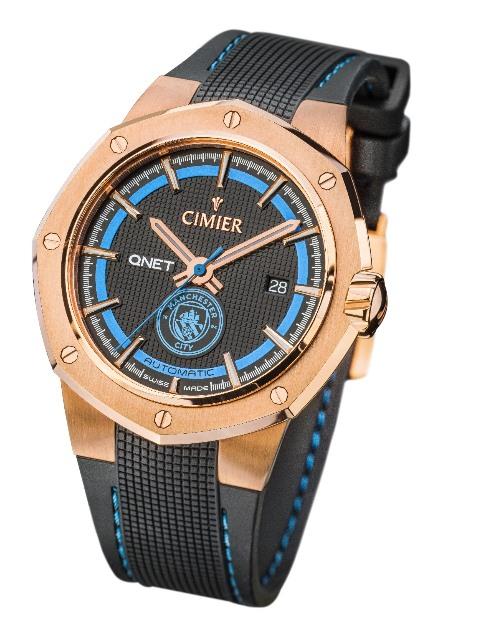 Pencinta Manchester City yuk tampil keren dengan jam tangan limited edition ini. (Foto: Dok.