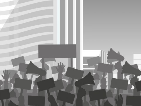 Polisi Tangkap 1.377 Orang Saat Demo Tolak UU Ciptaker