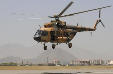 Tabrakan Dua Helikopter di Afghanistan Tewaskan 9 Orang