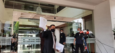 Draf UU Ciptaker Tiba di Istana