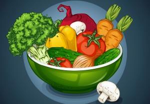 Bagaimana Porsi Ideal Penyajian Sayuran?