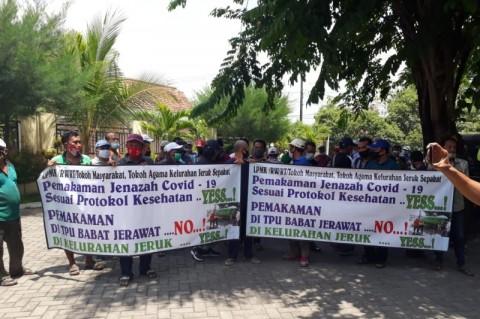 Ketua RT-RW di Surabaya Tolak Aturan Pemakaman Pasien Covid-19