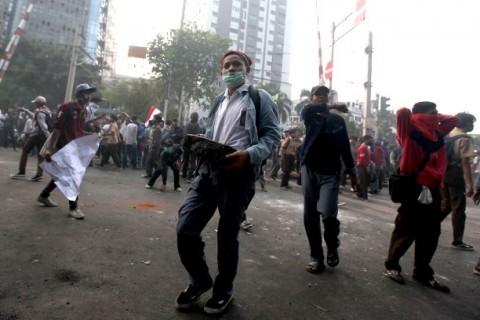 30 Demonstran Tolak Omnibus Law di Makassar Dipulangkan