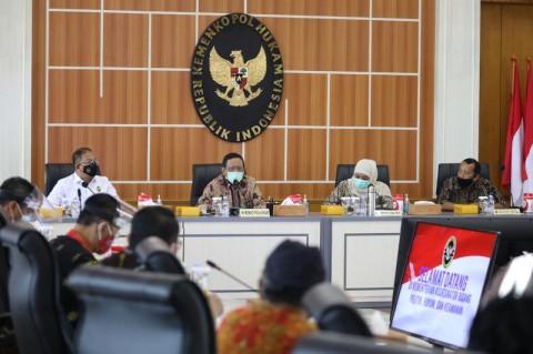Mahfud MD Tampung Aspirasi Buruh Soal UU Cipta Kerja