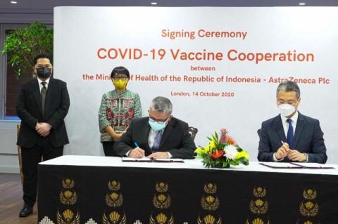 100 Juta Vaksin Covid-19 Disediakan AstraZeneca untuk Indonesia di 2021