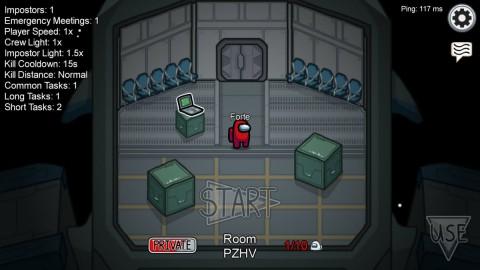 Bermain dengan Teman, Begini Cara Buat Private Room di Among Us
