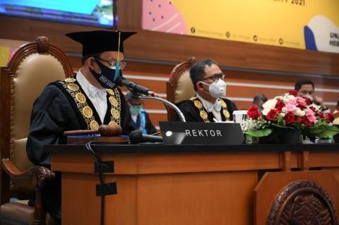 Rektor Minta Kontribusi 200 Guru Besar Unair Diperkuat