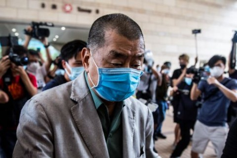 Kantor Pribadi Taipan Hong Kong Digeledah Polisi