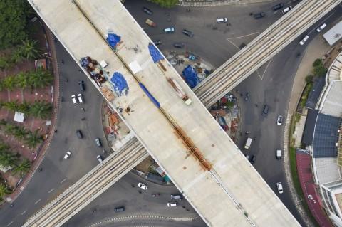 Proyek Tol Layang Kelapa Gading-Pulogebang Ditargetkan Selesai Juni 2021