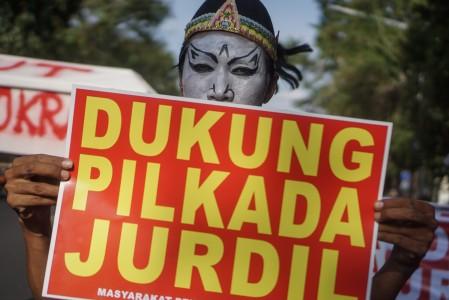 ICW: Pilkada Tak Langsung Belum Tentu Cegah Korupsi