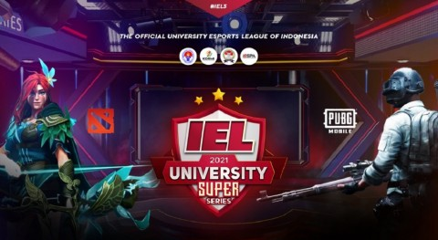 Turnamen Kampus IEL University Super Series 2021 Season 3 Dimulai