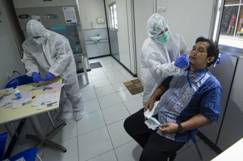 BPKP Luncurkan Laboratorium Mini Tes Usap Antigen untuk Karyawan