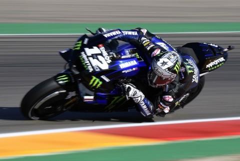 Maverick Vinales Tetap Tercepat di FP2 MotoGP Aragon