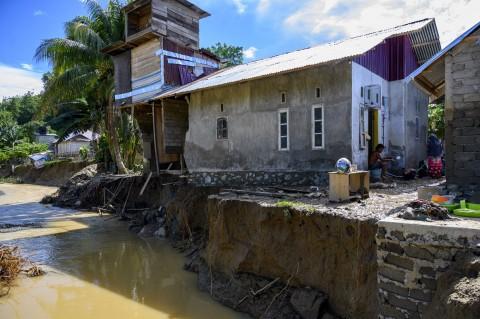 Sungai di Donggala Meluap, 955 KK Terdampak