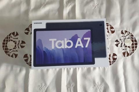 Intip Kotak Kemasan Samsung Galaxy Tab A7