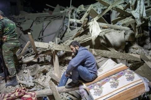 Korban Serangan Misil di Kota Ganja Azerbaijan Jadi 12 Orang