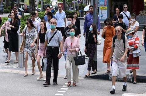 Kasus Aktif Covid-19 Singapura Turun di Bawah 100