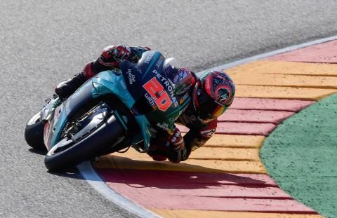 Lolos dari Cedera Serius, Quartararo Siap Mengaspal di MotoGP Aragon