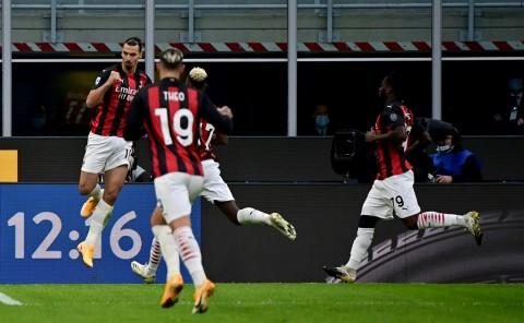 Inter Milan vs AC Milan: Baru Pulih dari Covid-19, Zlatan Ibrahimovic Jadi Pahlawan Kemenangan