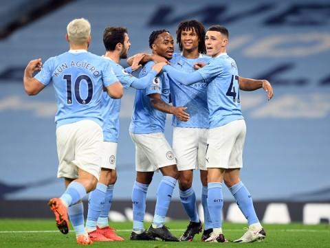 Manchester City vs Arsenal: Gol Raheem Sterling Menangkan City